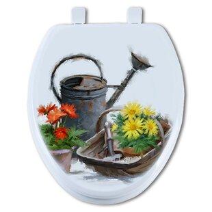 TGC Artisans Seats Watering Can Elongated Toilet Seat
