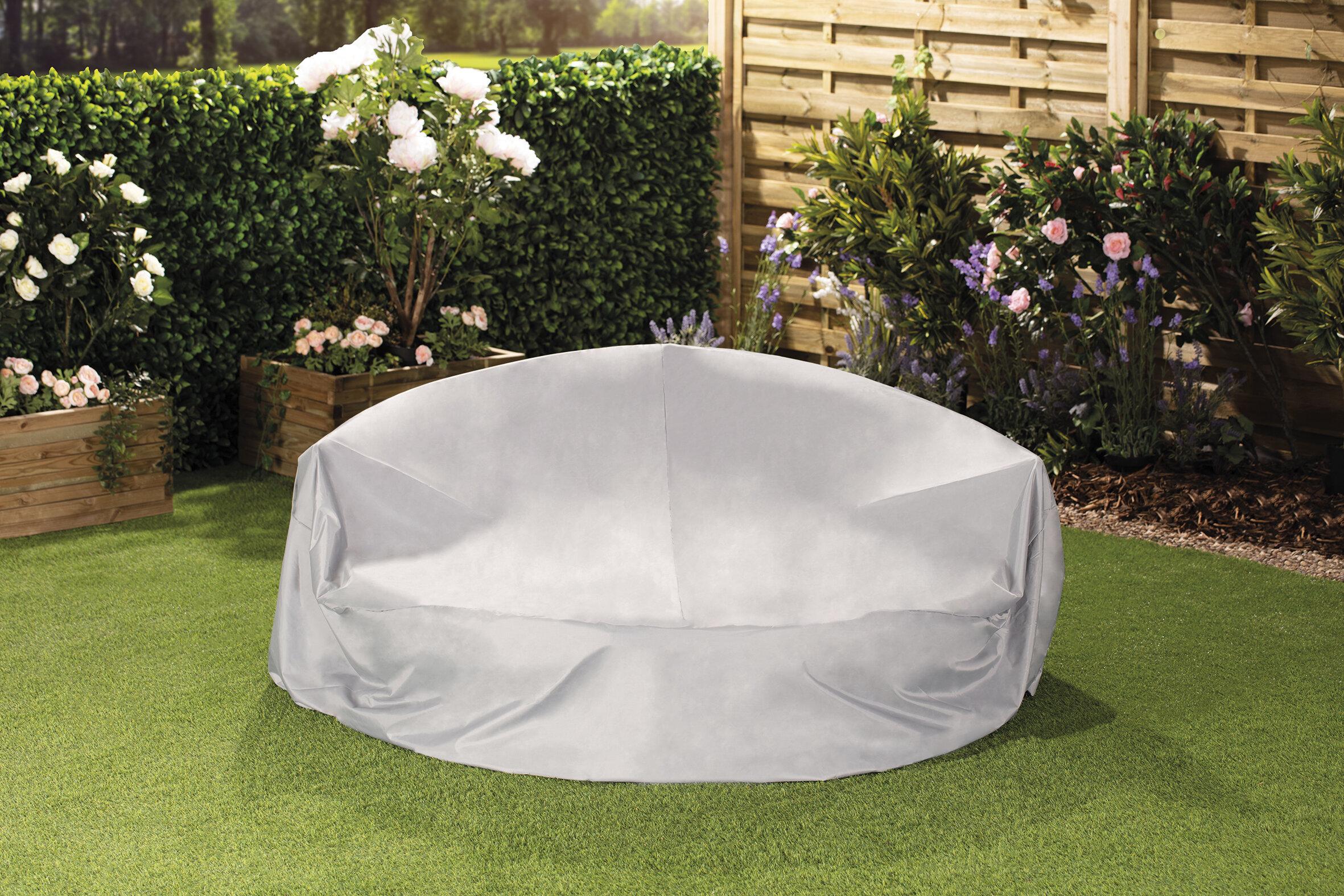 Large Round Furniture Patio Sofa Cover