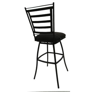 Darin Valley Patio Bar Stool With Cushion