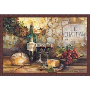 VINTAGE WINE VINO VINEYARD CHATEAU ART PRINT POSTER Advertising Kitchen Decor