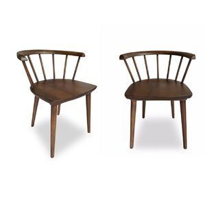 Mabel Solid Wood Dining Chair (Set of 2) by Ashcroft Imports