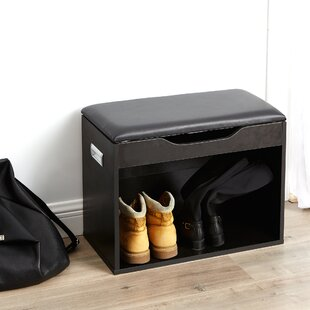 Read Reviews Compact Storage Bench By Ebern Designs