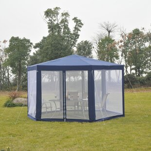 6 Ft. W x 6 Ft. D Metal Patio Gazebo by Outsunny