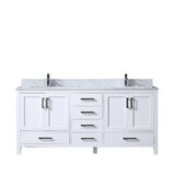 Michaella 72 Double Bathroom Vanity Set by Wrought Studio™