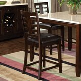 Vancouver Stool in Dark Brown (Set of 2) by Standard Furniture