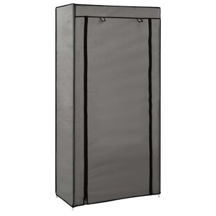 Review Fabric Cover 10 Pair Shoe Storage Cabinet