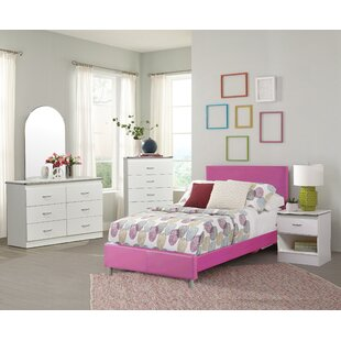 Asphodle Platform 5 Piece Bedroom Set by Isabelle amp Max