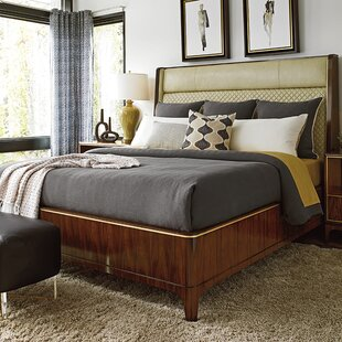 Take Five Upholstered Panel Bed By Lexington