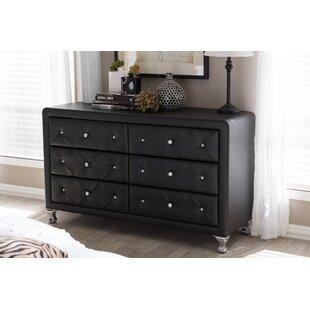 Beglin 6 Drawer Double Dresser by House of Hampton
