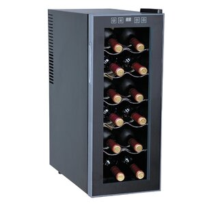12 Bottle Single Zone Freestanding Wine Cooler