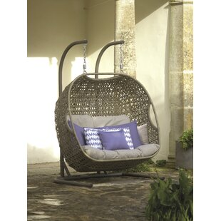 Lamour Double Swing Chair with Stand by Lynton Garden