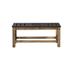 Wiggin Wood Bench