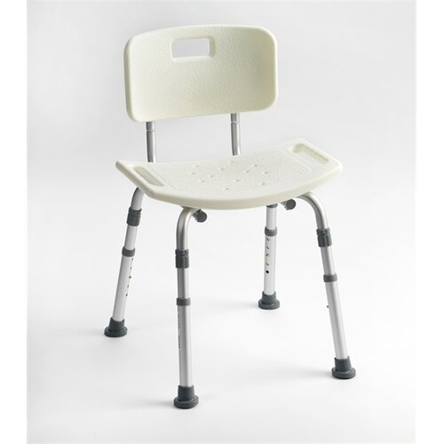 Deluxe Adjustable Shower Chair Symple Stuff