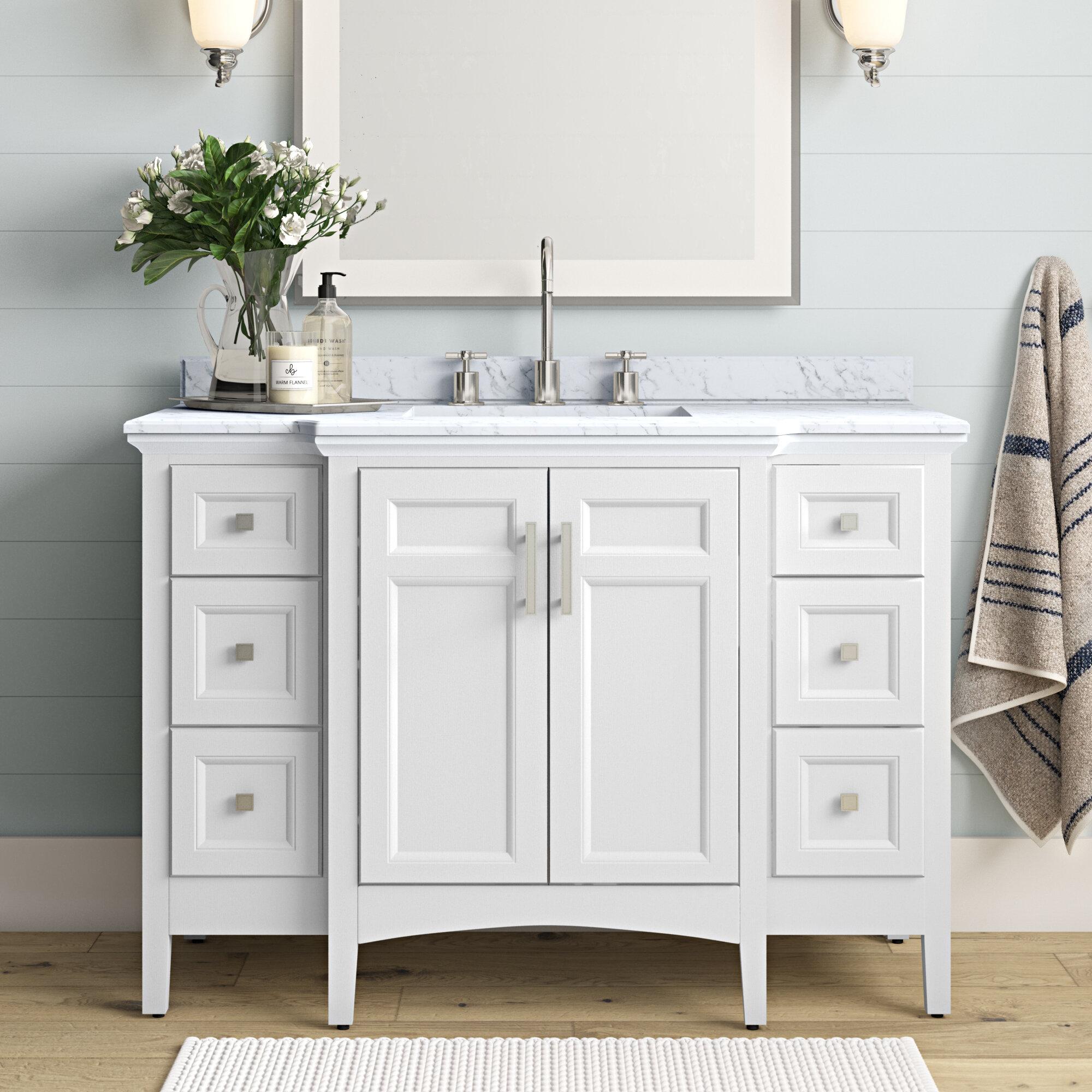 Luz 48 Single Bathroom Vanity Set
