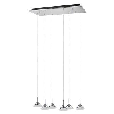 6-light Pendant Aspen Creative Corporation