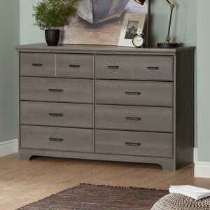 Versa 8 Drawer Double Dresser