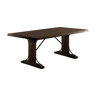 Makenna Traditional Solid Wood Dining Table