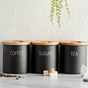3 Piece Coffee, Tea, & Sugar Set