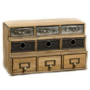 Best Reviews Streetsboro Industrial Reclaimed 9 Drawer Accent Chest By Bungalow Rose