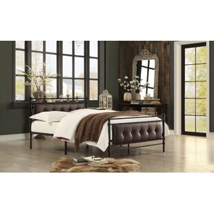 Farkas Full/Double Upholstered Platform Bed