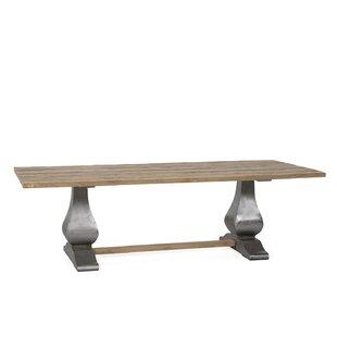 Gracie Oaks Sunikka Solid Wood Dining Table