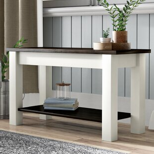 Gracie Oaks Su Wood Storage Bench