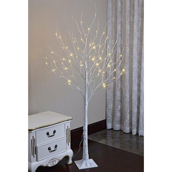 Lighted Birch Trees Wayfair