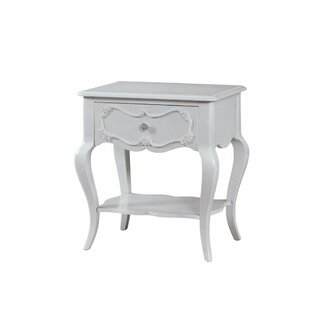 Alcott Hill Hagberg Beautiful 1 Drawer Nightstand