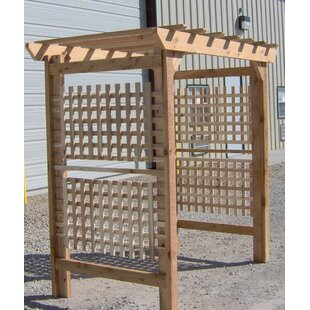 Threeman Products Oversized Classic Wood Arbor