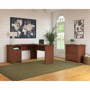 Darby Home Co Buena Vista 2 Piece L-Shaped Desk Office Suite