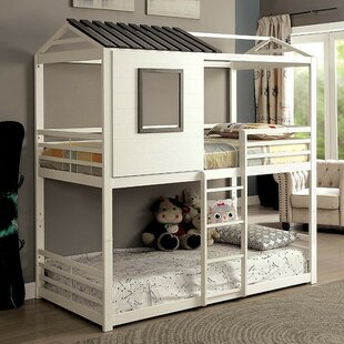 Compare prices Adcock Twin over Twin Bunk Bed by Zoomie Kids Reviews (2019) & Buyer's Guide