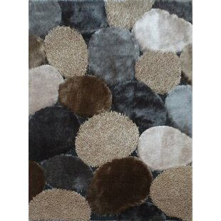 Hand-Tufted Gray/Beige Area Rug By Rug Factory Plus