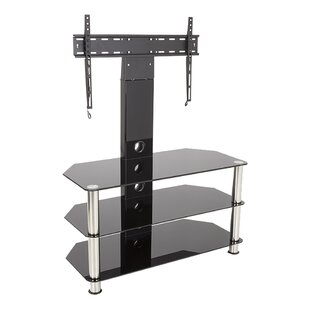 Cantilever Glass TV Stand For TVs Up To 60