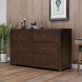 Annye 6 Drawer Double Dresser by Red Barrel Studio®