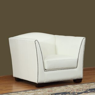 Lazzaro Leather Marilyn Armchair