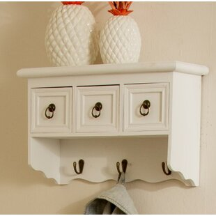 Wall Mounted Coat Rack With Drawers By Brambly Cottage