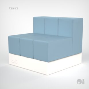 Cellular Three Back Modular Sectional
