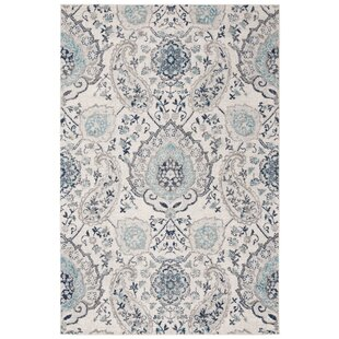 Compare & Buy Grieve Light Gray/Cream Area Rug By Bungalow Rose