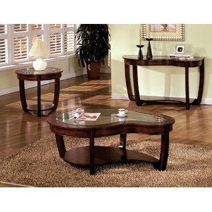 Schmidt 3 Piece Coffee Table Set