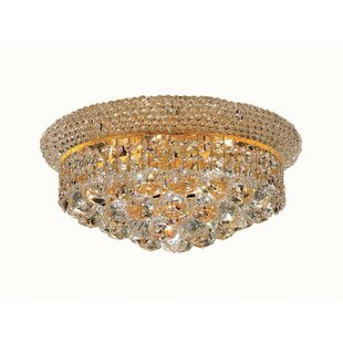 Willa Arlo Interiors Destanee 6-Light Flush Mount