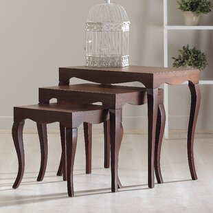 Victor 3 Piece Nesting Table