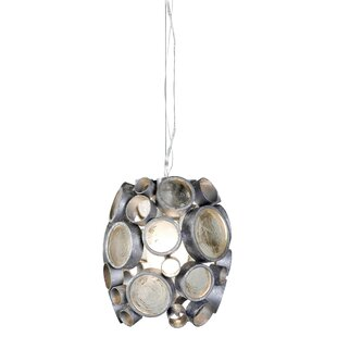 Brayden Studio Thome 1-Light Drum Pendant