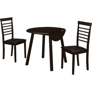 3 Piece Dining Set by Monarch Specialties..