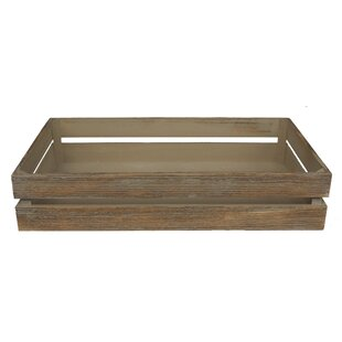 Seaford Wooden Organiser Box By Brambly Cottage
