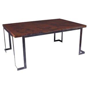 17 Stories Vanesa Steel Strap Dining Table