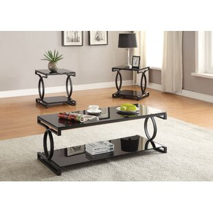 A&J Homes Studio Milo 3 Piece Coffee Table Set