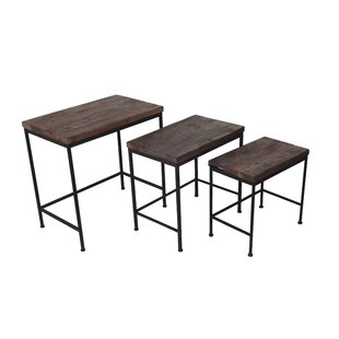 Skelmersdale 3 Piece Nesting Tables by Three Posts #2