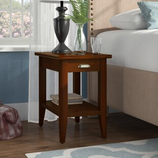 Stonington End Table With Storage by Three Posts