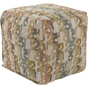 Riverdale Pouf Ottoman by Andover Mills
