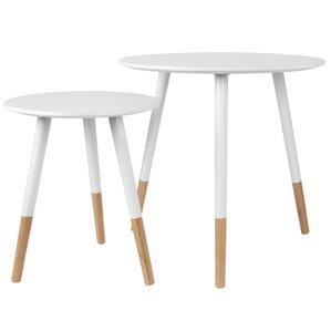 Graceful Nest of Tables (Set of 2)